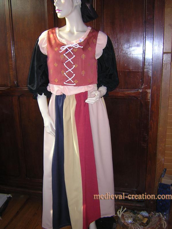 Médiévales L'artiste Saltimbanque Costume Mathilda Créations exWCdBro